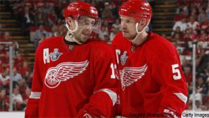 Will Lidstrom and Datsyuk raise the Cup this spring? Time will tell ...