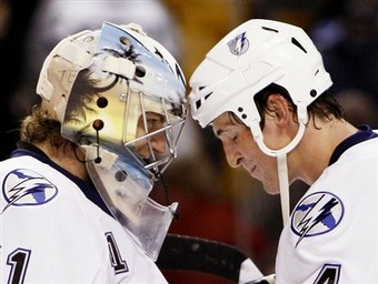 Players must begin holding each other accountable OFF the ice, too. (AP Photo/Winslow Townson)