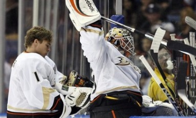 Is Jean-Sebastian Giguere's Time Running Out In Anaheim?