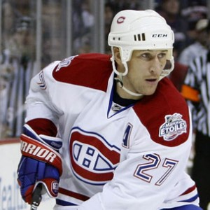 Ex-Montreal Canadiens forward Alexei Kovalev