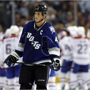Lecavalier was bought out by the Lightning this summer.