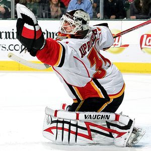 Kiprusoff has told the Flames that he would not report to a new team if traded