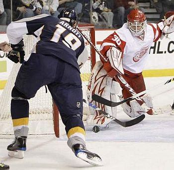 Jason Arnott was captain when he was with the Preds.