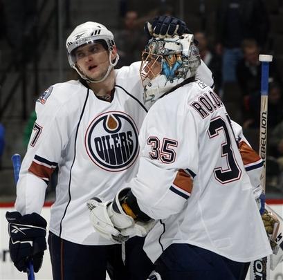 Denis Grebeshkov, Edmonton Oilers
