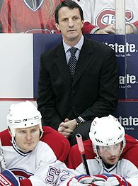 Former Montreal Canadiens forward and head coach Guy Carbonneau