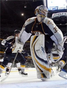 Pekka Rinne is the future between the Preds' Pipes
