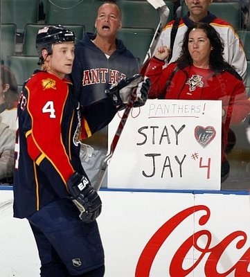 Jay Bouwmeester, Florida Panthers