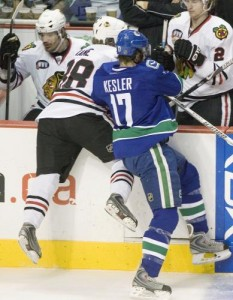 Vancouver needs to trade Ryan Kesler - and quick. (UPI Photo/Heinz Ruckemann)