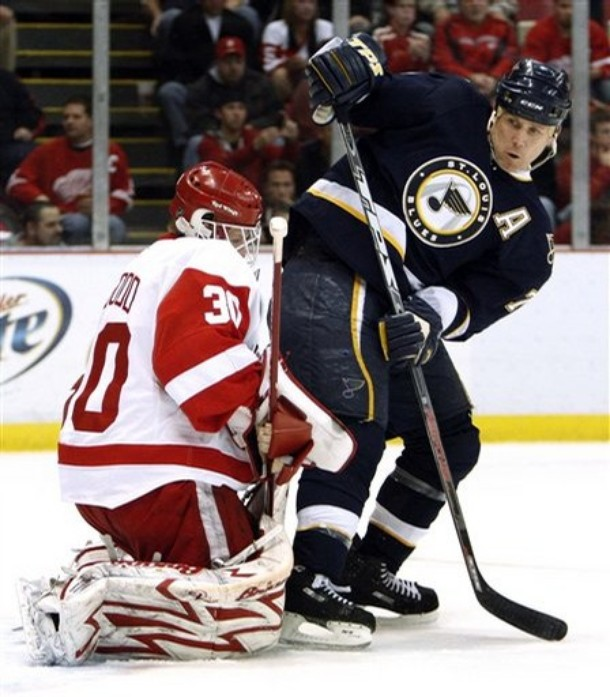 The Blues and Red Wings rivalry goes back much further than Keith Tkachuk and Chris Osgood.