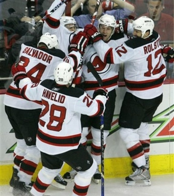New Jersey Devils Celebration