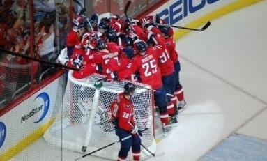 Varlamov Shines as Capitals Take Game 1