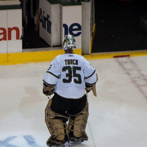 Stars Goalie Marty Turco
