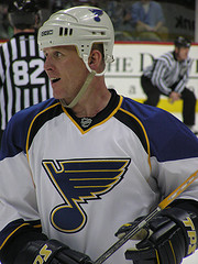 Vet Keith Tkachuk could lead the Blues to the playoffs again {svictoria - Flickr}