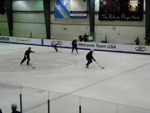 More drills from camp practice (photo property of the author)