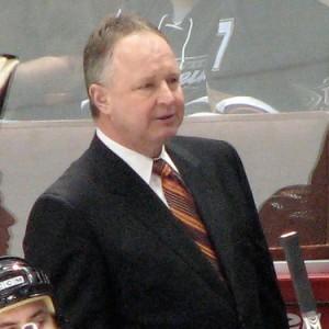Ducks' Head Coach Randy Carlyle