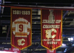 Could the Flames add another banner to the rafters? (Photo on Wikicommons)
