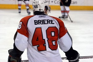 Briere would hold co-captain role with Chris Drury before heading to Philly in the dark summer of 2007
