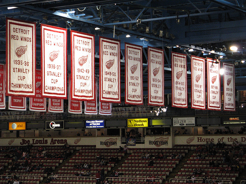 The Banners at the Joe Louis
