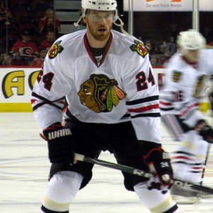 Martin Havlat had his best NHL season with the Chicago Blackhawks in 2008-09. (Photo: Wikimedia)