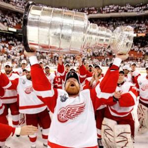 Kris Draper Red Wings Stanley Cup