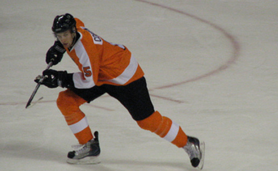 If we have seen the last of Kimmo Timonen, Andrew MacDonald will join Braydon Coburn (above) to round out the Flyers' top pairing.