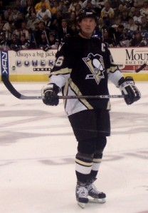 Mario Lemieux - Starting center on the Pittsburgh Penguins team of the 2000s. (Photo by Author)