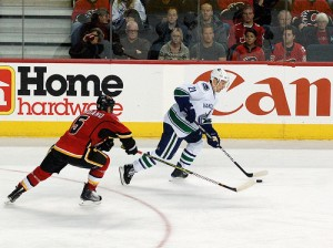 Mark Giordano was a huge loss for the Flames, but continues to lead a young team. (Jeremy Nolais/Flickr)