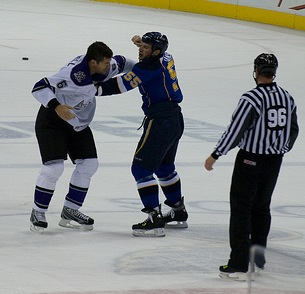 Cam Janssen Fight