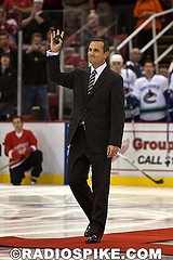 Steve Yzerman selects Nikita Kucherov @ 2011 Draft {Photo by Radiospike.com}