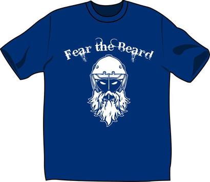 Fear the Beard - available from RinaWear.com!