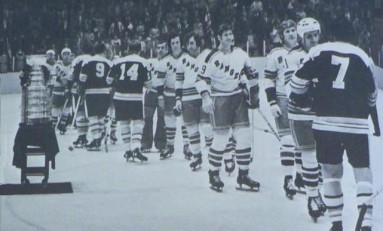 Hockey Handshake Etiquette: Then and Now