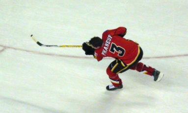 Calgary Flames' Great Dion Phaneuf