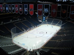 Home of the Columbus Blue Jackets, Nationwide Arena (Dave Gainer/THW)