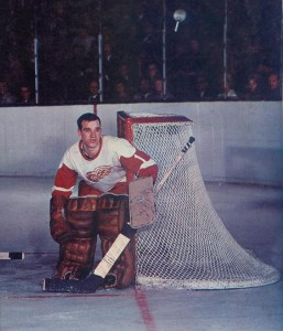 Wings rookie Roger Crozier starred, despite losing teeth for the second game in a row