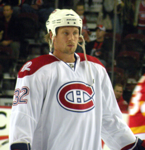Former Montreal Canadiens forward Travis Moen