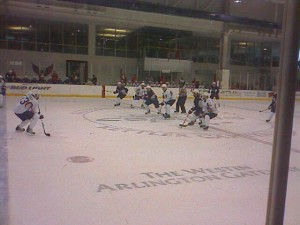 Washington Capitals Prospect Game 2009. Photo by Monica McAlister