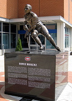 Howie Morenz statue Montreal