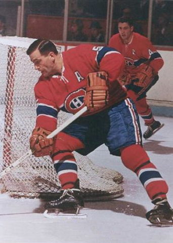 Boom Boom Geoffrion Montreal Canadiens