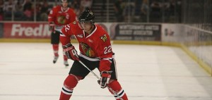 Nino Niederreiter playing with the Portland Winterhawks. (Portland Winterhawks/Flickr)