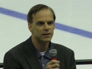 Blue Jackets GM Scott Howson/THW