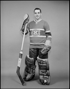Montreal Canadiens goalie Jacques Plante