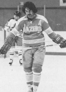 Dave Hutchison, Derek Sanderson, WHA, Philadelphia Blazers