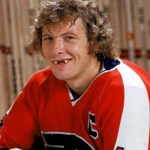 Bobby Clarke's million dollar smile