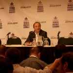 Gary Bettman at World Hockey Summit