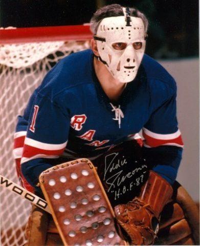 Ed Giacomin New York Rangers