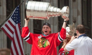 Kane Continues Climbing Blackhawks' All-Time Playoffs Points List