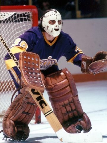 Rogie Vachon Kings Goalie