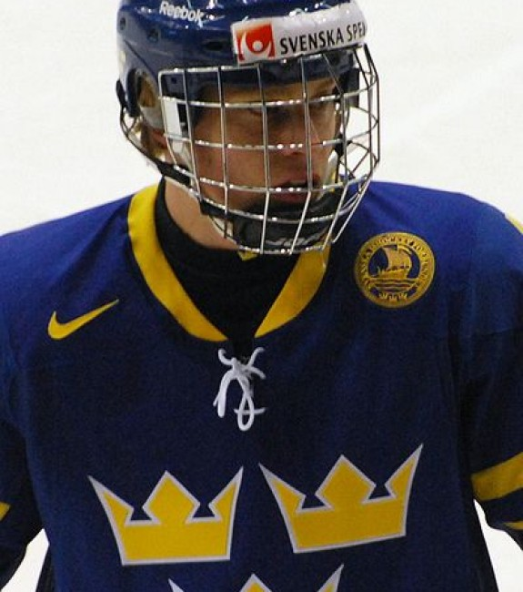 {Photo: Wikimedia Commons - CanadaHky} Back in 2011, when Adam Larsson was still back in Sweden, the Oilers gave serious consideration to selecting him first overall but ultimately picked Ryan Nugent-Hopkins instead with Larsson falling to the New Jersey Devils at fourth overall. Back then, Larsson was drawing favourable comparisons to fellow Swede, Victor Hedman, but through parts of five NHL seasons, Larsson has yet to top three goals or 24 points. Perhaps a better comparable going forward would be Hedman's partner in Tampa Bay and another Swede, Anton Stralman.