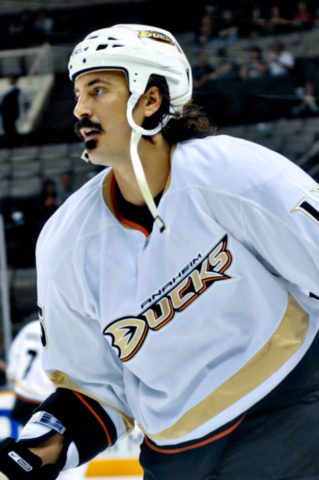 George Parros, Anaheim Ducks