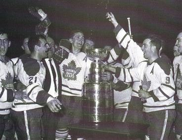 1962 Toronto Maple Leafs Stanley Cup Celebration.